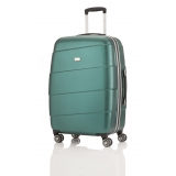 travelite-stripes-handbagage-trolley-spinner-groen (1)